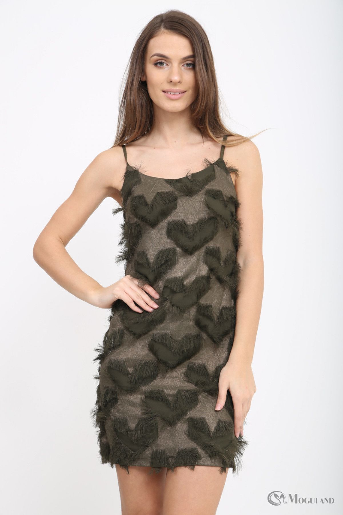 a2ace67919 Ladies khaki textured strappy dress wholesale - Women s Wholesale Clothing  Supplier