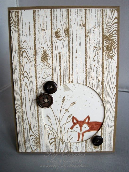 Stampin' Up! Hardwood meets Life In The Forest