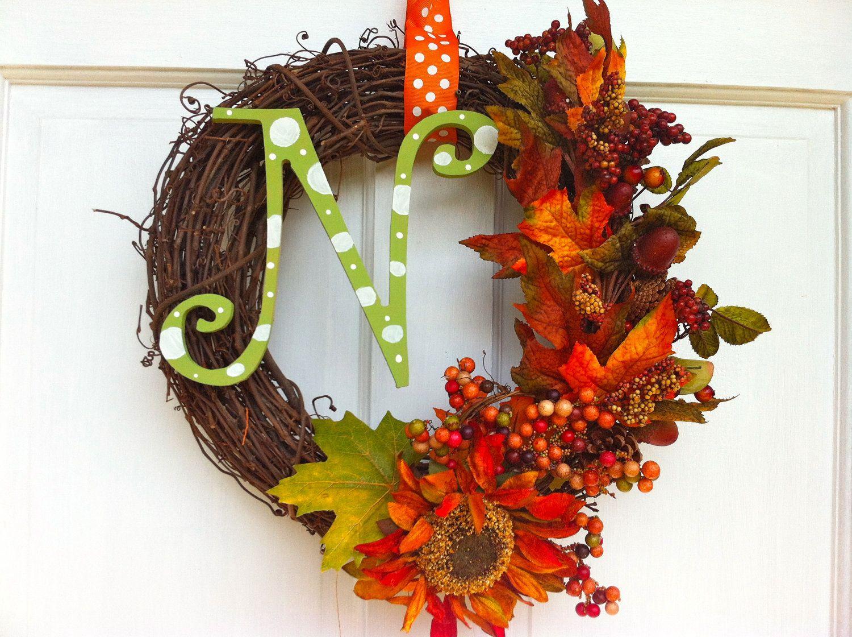 Fall Grapevine Wreath Fall Wreath