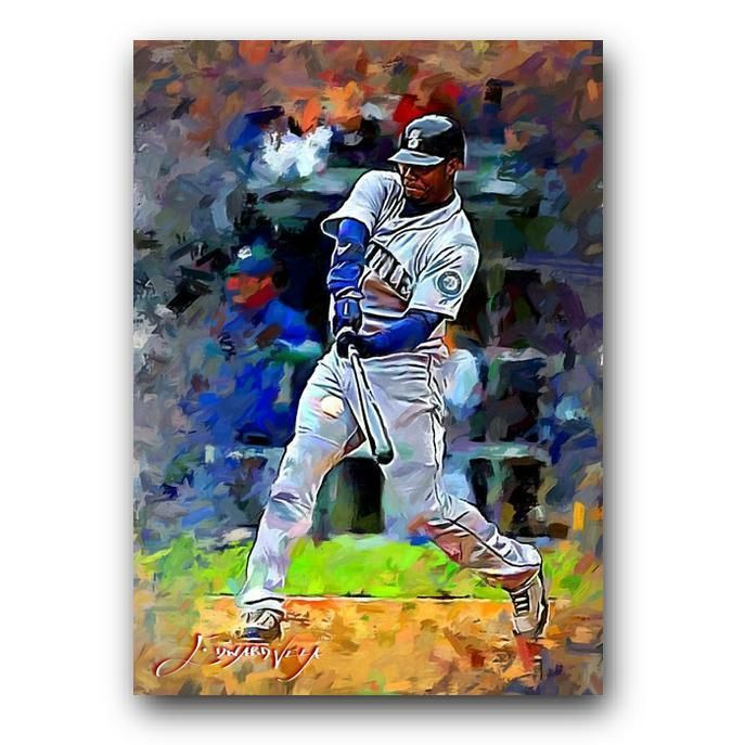 6fb2493cc9 Ken Griffey Jr #52 Sketch Card Limited 14/50 Edward Vela Signed  #SeattleMariners