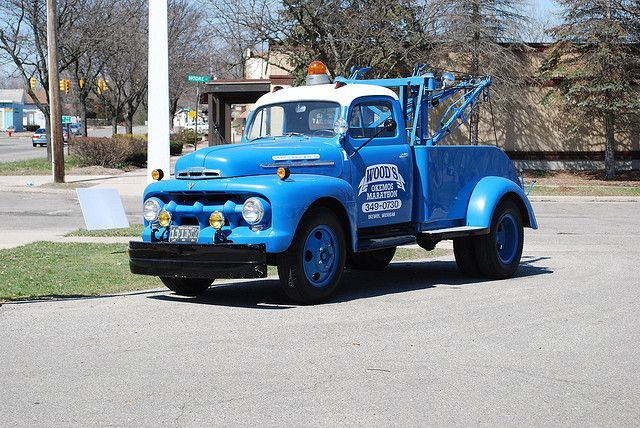 Ford Wrecker Avec Images Depanneuse Pick Up Camion