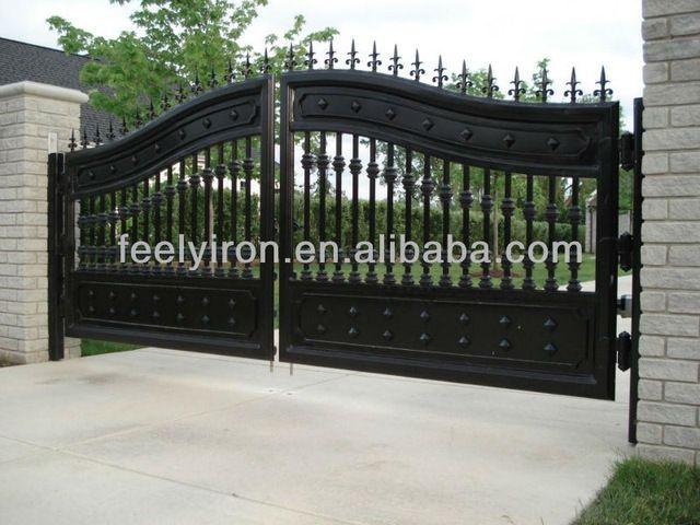 Source Luxury Wrought Iron Gate Fg 022 On M Alibaba Com House