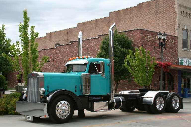 1954 Peterbilt 280 Semi | car | Peterbilt trucks, Trucks
