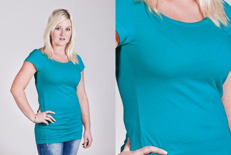 Dámské dlouhé tričko v 19 barvách
