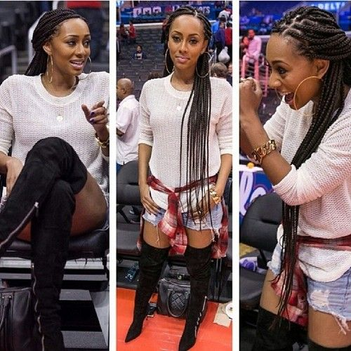 keri hilson braids tumblr | That Classy Edgy Fashion ...