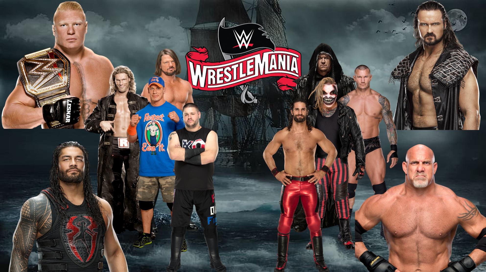 Wrestlemania 36 Kevin Owens Wrestlemania John Cena