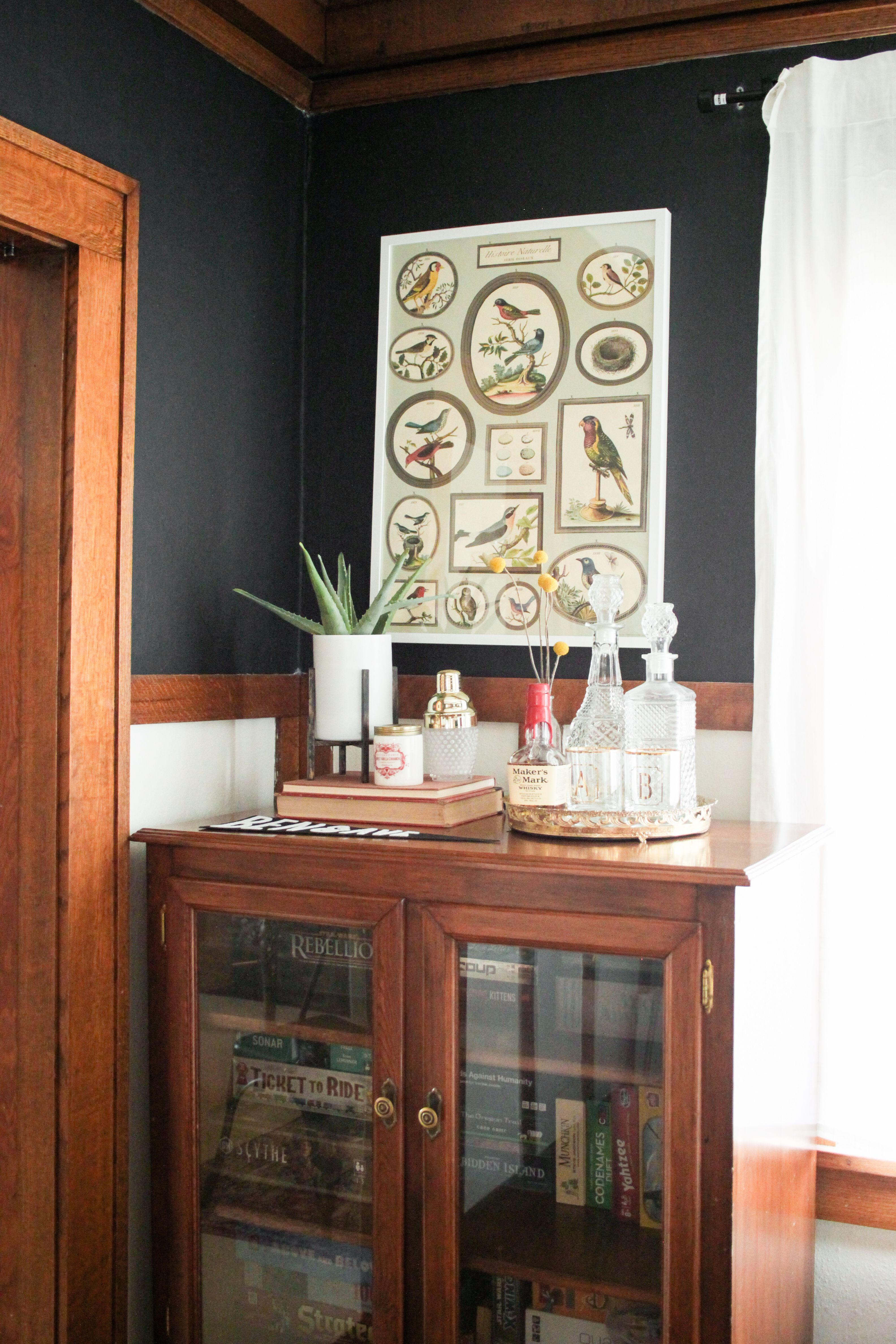 How to Style a Bar Cart on Holland Avenue Home Mid Century Bar Cart and Board & How to Style a Bar Cart on Holland Avenue Home Mid Century Bar Cart ...
