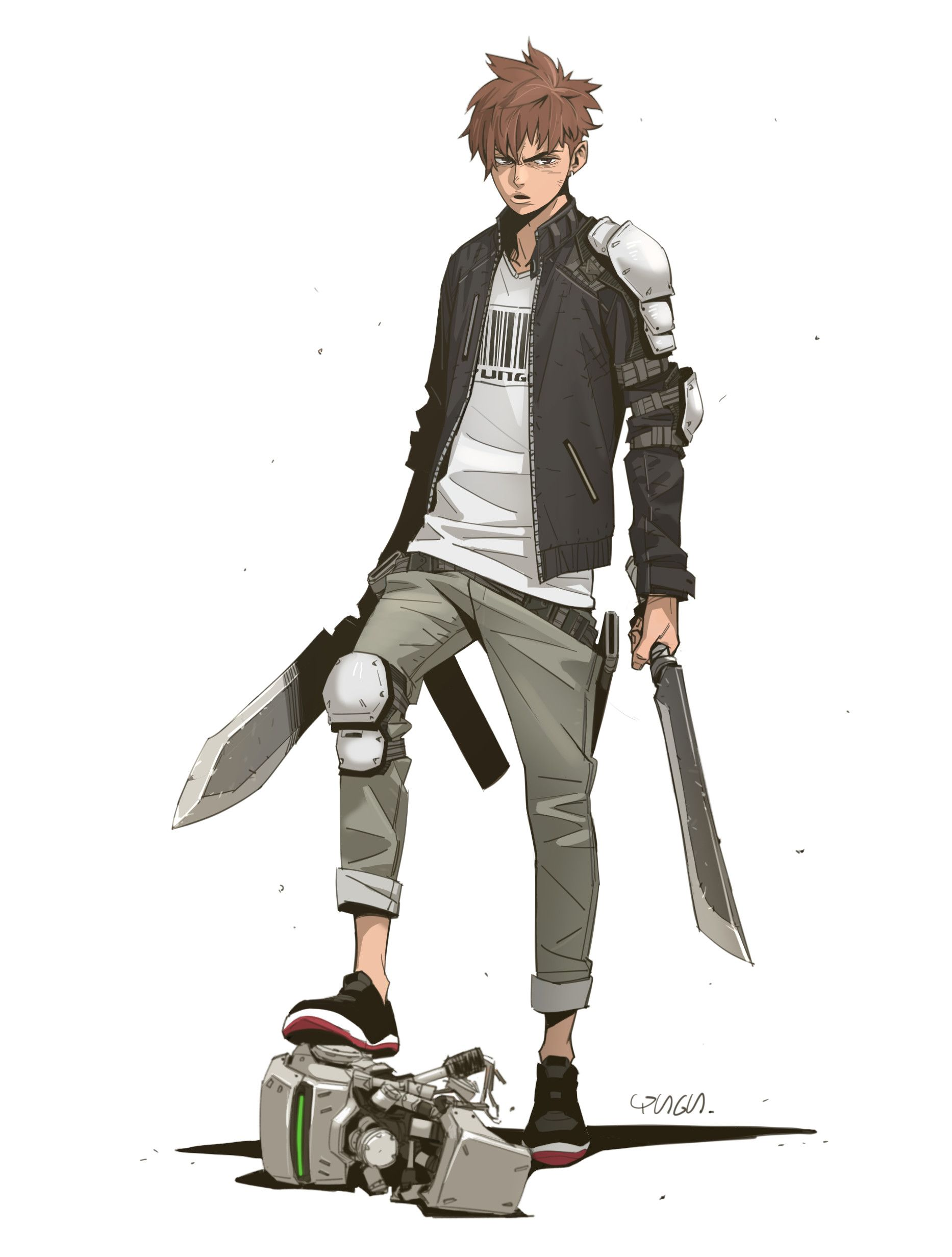 Artstation Hunter Yungun Y Anime Character Design Character Art Character Design Male