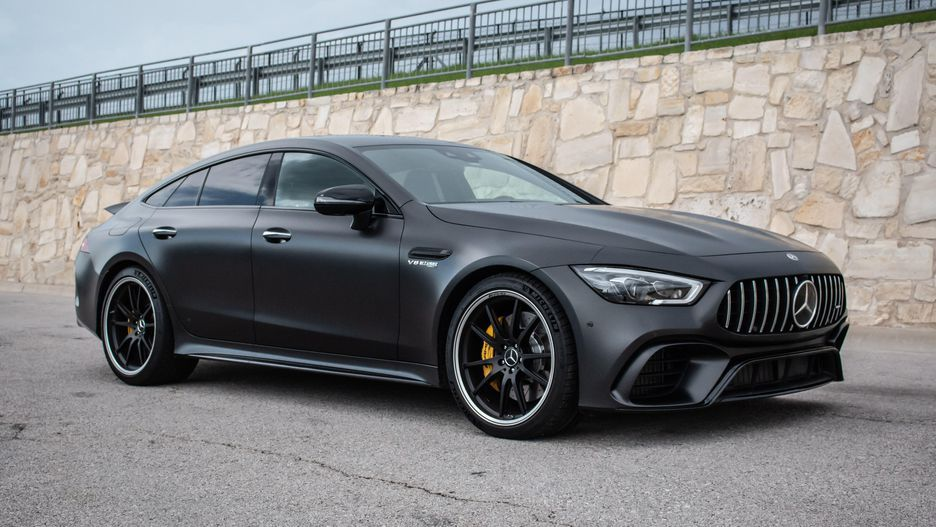 2019 Mercedes-AMG GT 4-door Coupe: A practical beauty #mercedesamg