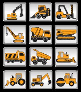 Construction Equipment Clip Art