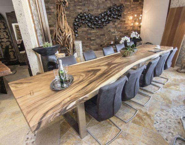 Esstisch aus Massivholz Esstisch modern, Esstisch