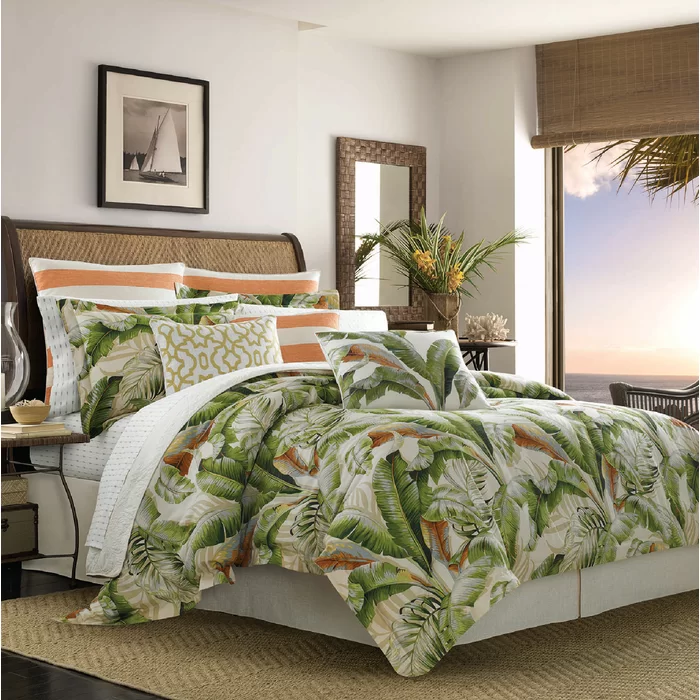 Tommy Bahama Palmiers Reversible Comforter Set in 2020