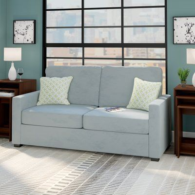 Superb Zipcode Design Gracie Sofa Upholstery Sky Blue In 2018 Dailytribune Chair Design For Home Dailytribuneorg