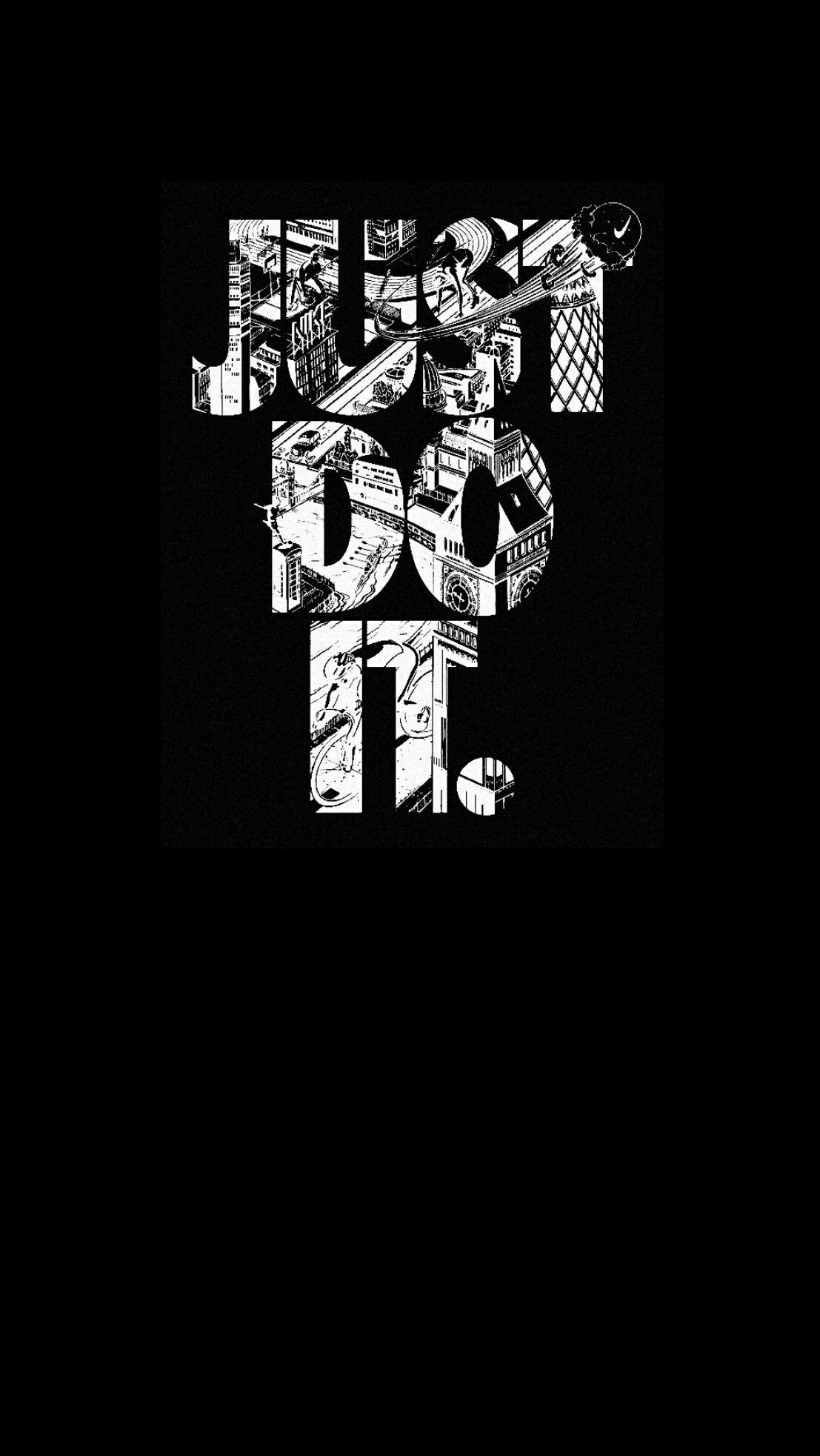 1107x1965 #nike #black #wallpaper #iPhone #android #blackwallpaperiphone