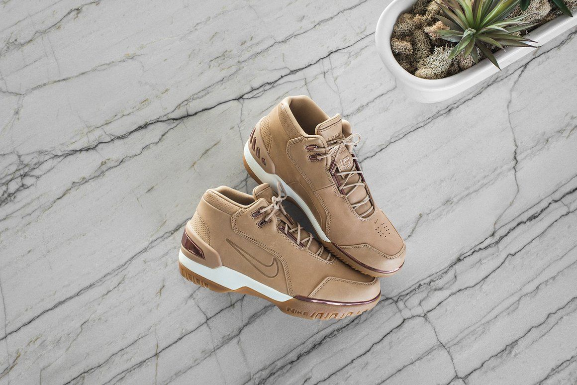 527dd8fa4c7b Nike 5 Decades of Basketball Collection – Kith NYC. Will You Cop Or Pass On The  Nike Air Zoom Generation Vachetta Tan ...