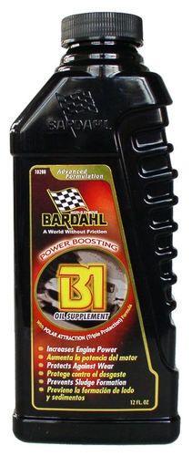 Bardahl Bardahl Oil Supplement Oil Additives Whiskey Bottle