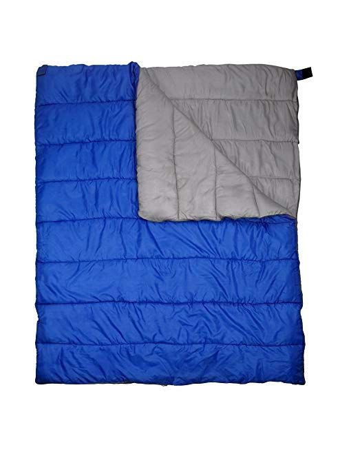 Gigatent Double Sleeping Bag 2 Person Sleeping Bag For