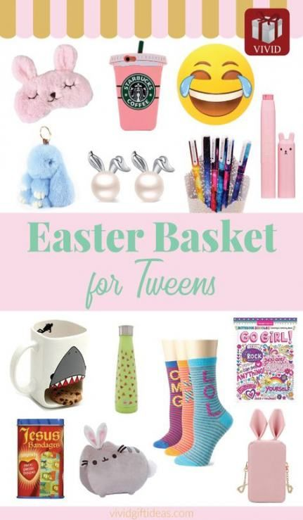 Tween Easter Basket Ideas: Basket Ideas For Girls Products 55+ Ideas