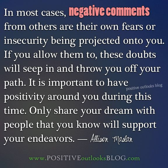 How to deal with a very negative person?