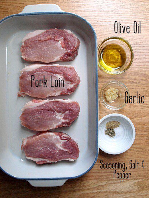 Easy Baked Boneless Pork Chops