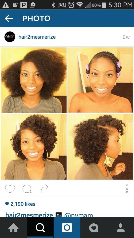 Blow Out Dry Twistout Short Natural Hair Styles Natural Hair Styles Curly Hair Styles