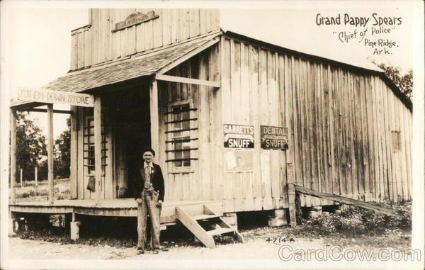 Photograph Vintage West Memphis Arkansas Blacksmith Shop 1936 8x10