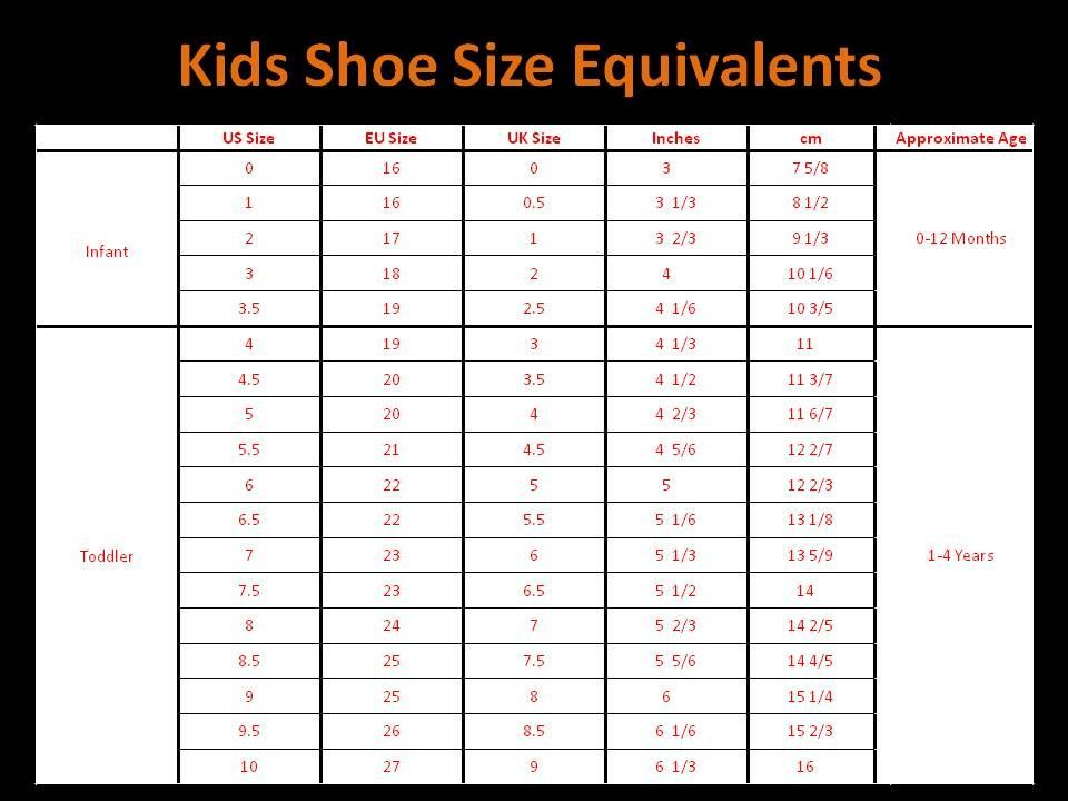 adidas baby shoe size chart age in 2020