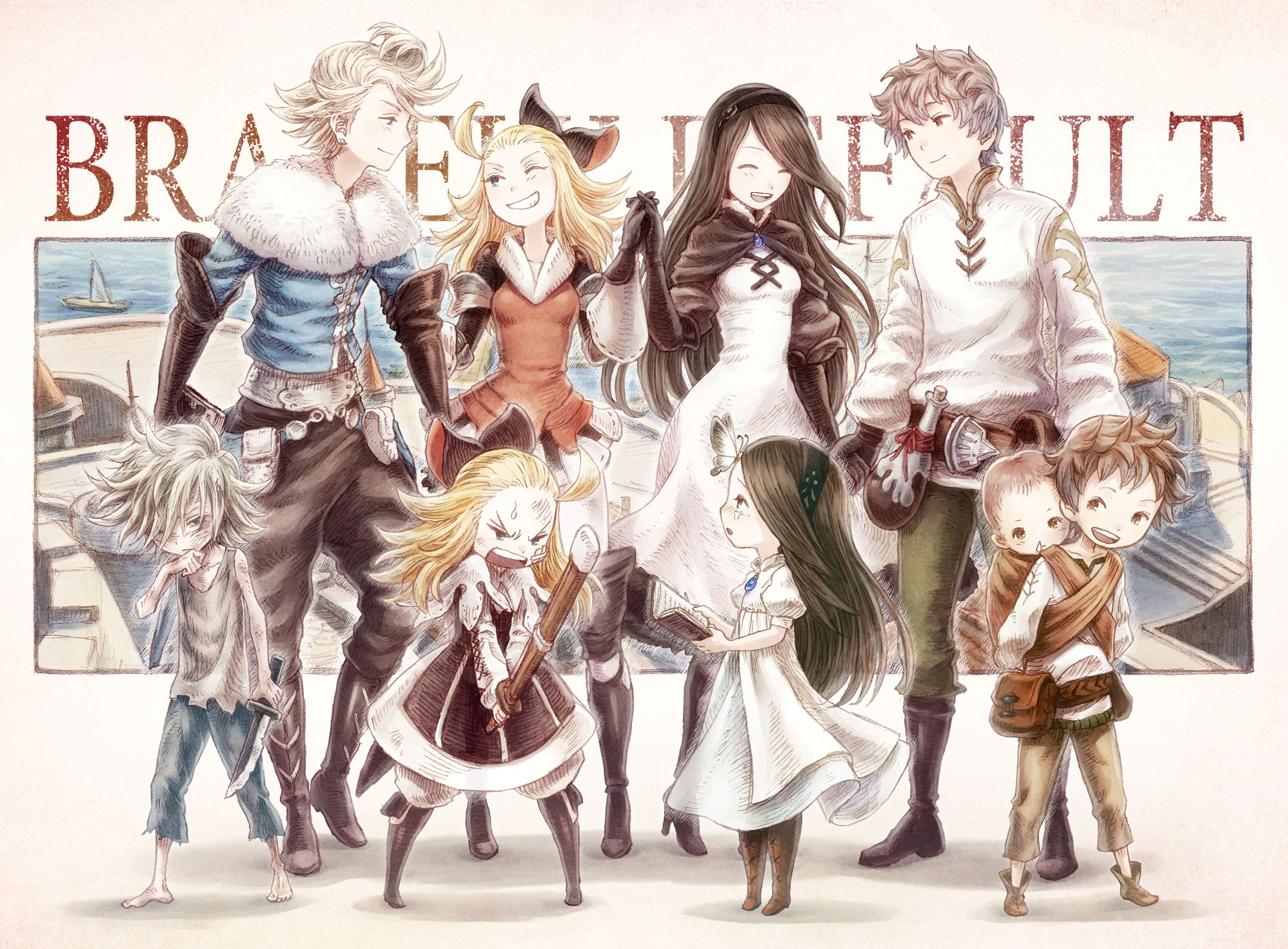 21 Cosplay Bravely Default References Ideas Bravely Default Character Concept Game Art