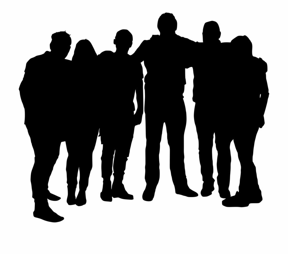 Free Download Group Of Men Silhouette Hd Png Download Is A Free Transparent Png Image Search And Find More On Pngs Silhouette Silhouette Man Silhouette Png