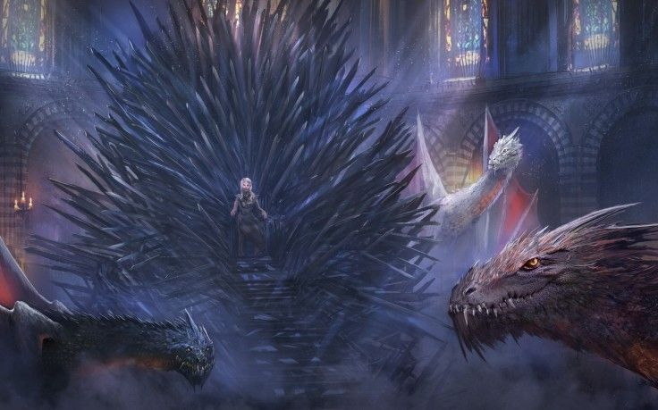 Fantasy Art Game Of Thrones Daenerys Targaryen Iron Throne HD Wallpaper Desktop Background