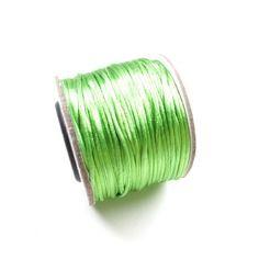 +/- 30 mètres de cordon nylon queue de rat vert 1.5mm
