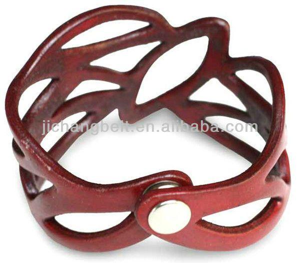 Cystal браслет кожаный браслет