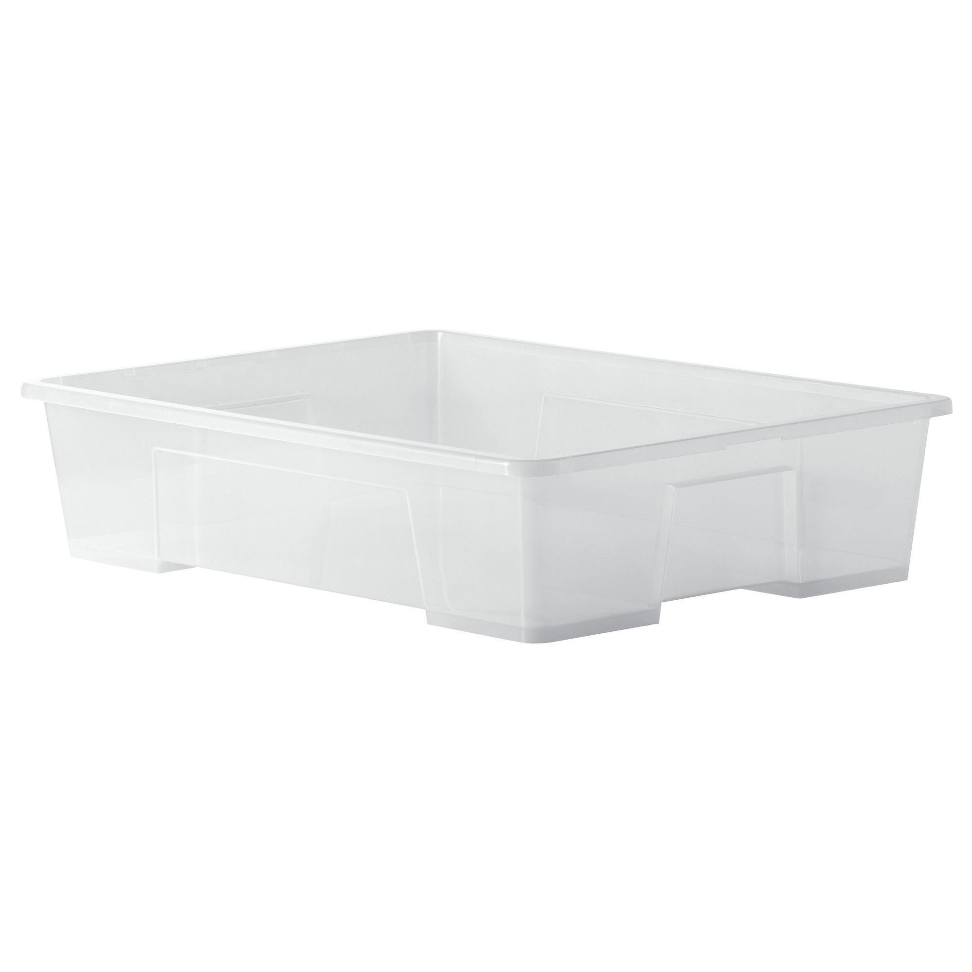 SAMLA Box, transparent | Campingbus, Gästezimmer und Wohnen