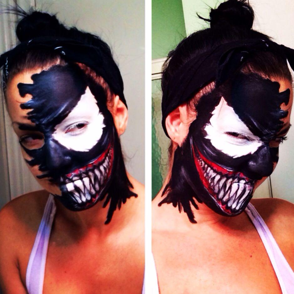 Makeup by Laura watts. #venom | Halloween Make Up ...