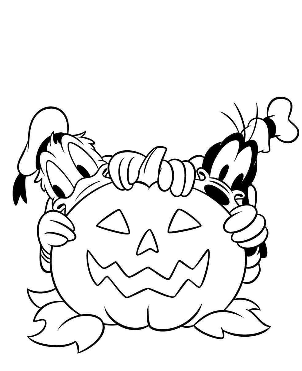 8 Coloriage Halloween Disney A Imprimer Gratuit Cartoon Coloring Pages Halloween Coloring Pages Halloween Coloring