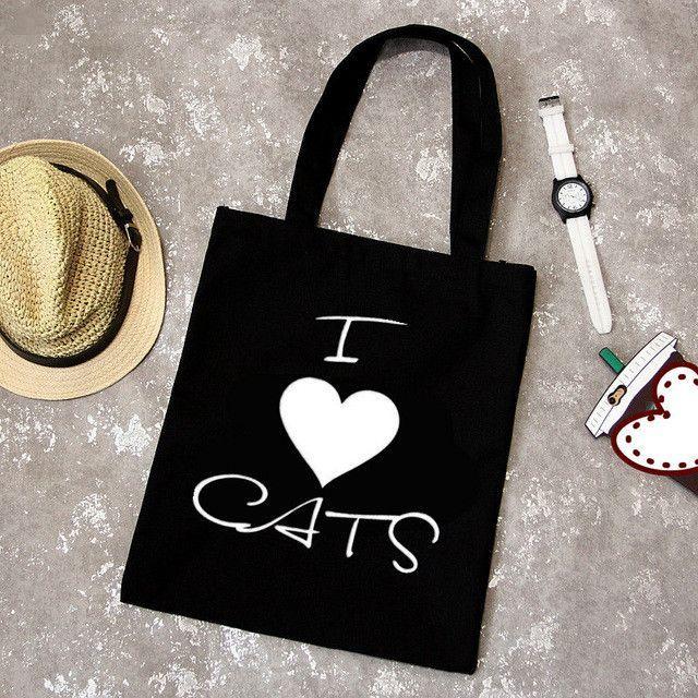 Canvas Cat Print