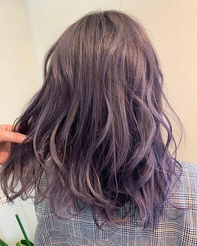 Galaxy Hairdressersさんはinstagramを利用しています ラベンダー