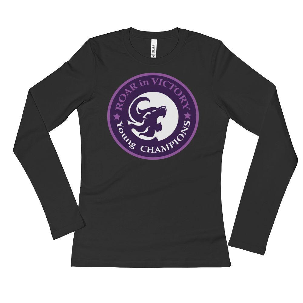 Ladies' Long Sleeve T-Shirt - Victory Established in Christ