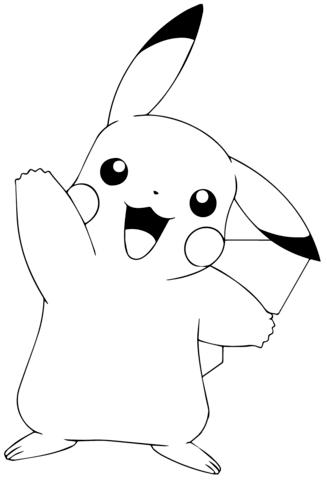 Desenhos do Pikachu para imprimir e colorir | lisa frank and more ...