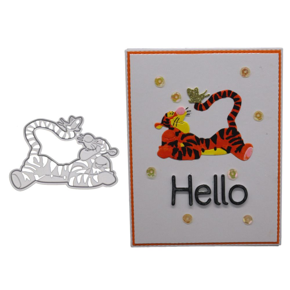 Hobby Animals Metal Cutting Dies Stencil DIY Scrapbooking Photo Album Embossing