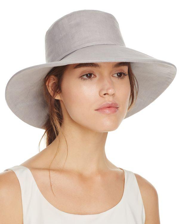 9e9b22e08 Helen Kaminski Pina Linen Hat | Products | Escarpins, Sandales ...
