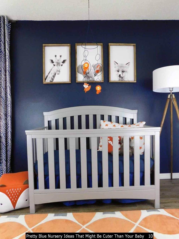 Amazing Boy Nursery: Cool And Pretty Blue Nursery Ideas That Might Be Cuter