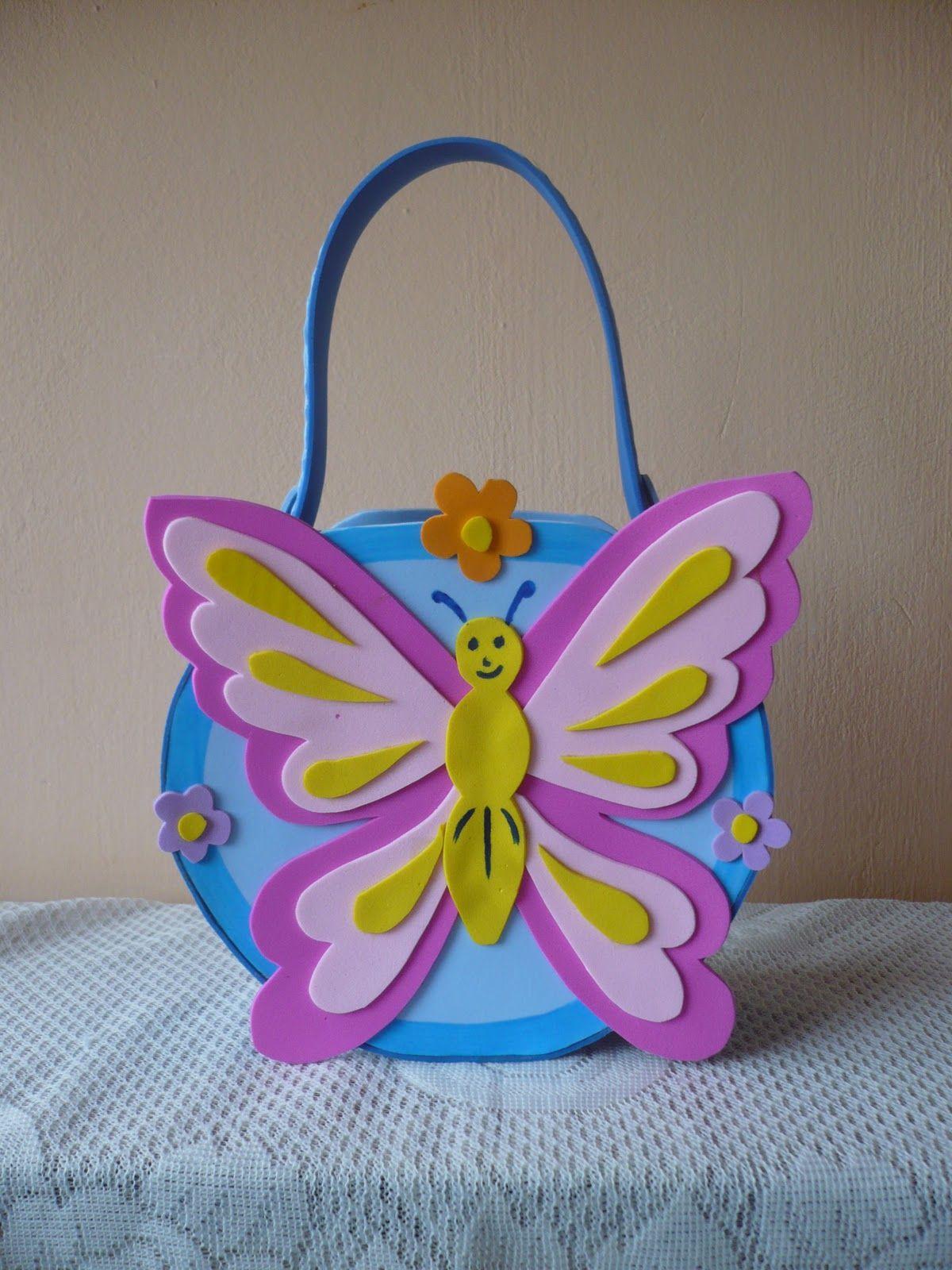 Fomi moldes mariposas de fomi manualidades infantiles - Como hacer mariposas de goma eva ...