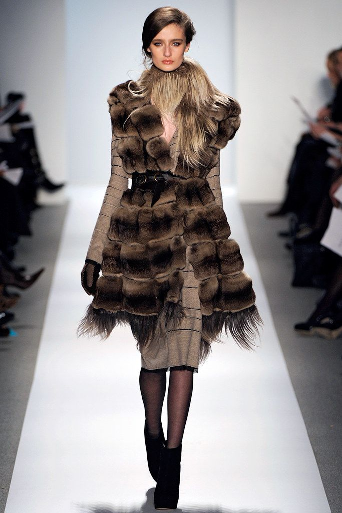 Dennis Basso Fall 2011 Ready-to-Wear Fashion Show - AJ Strutman