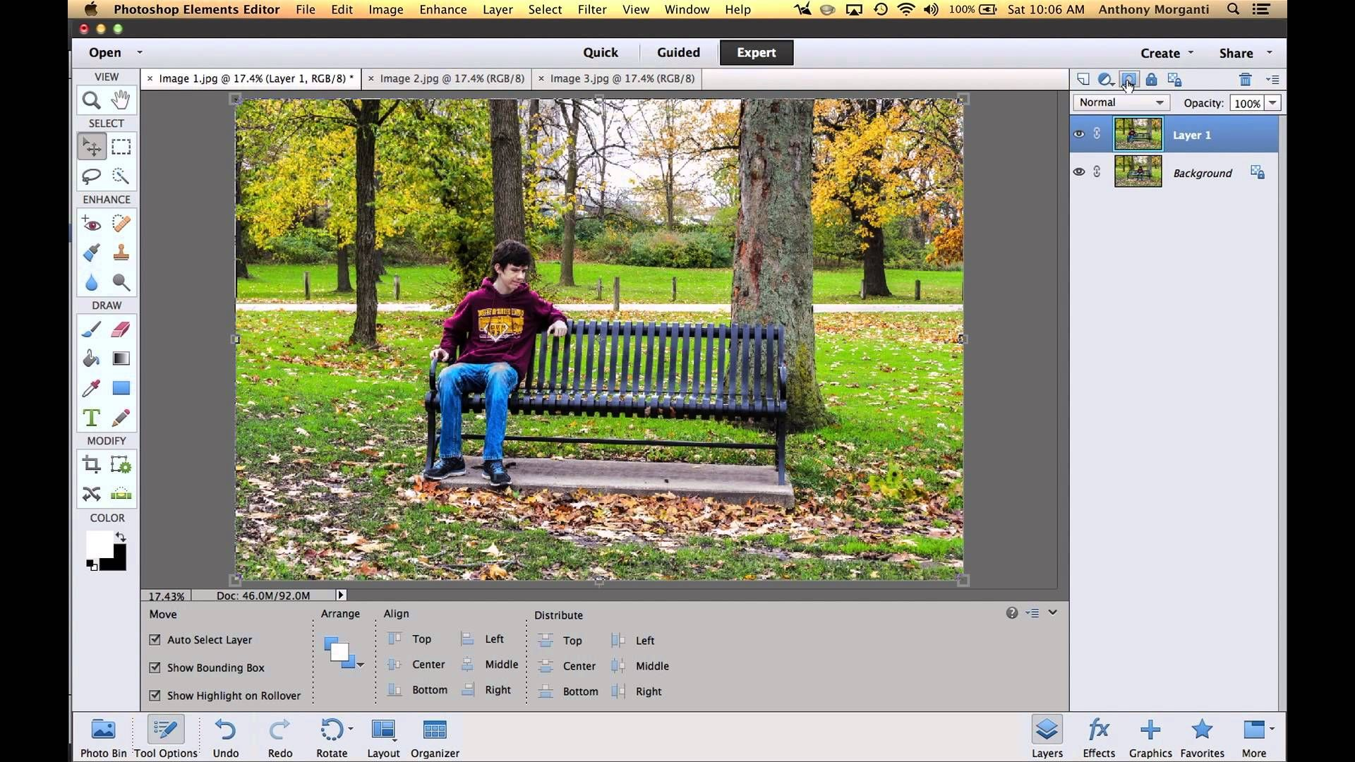 Learn adobe photoshop elements episode 7 layers and layer masks lightroom and photoshop pinterest adobe photoshop elements adobe photoshop a baditri Choice Image