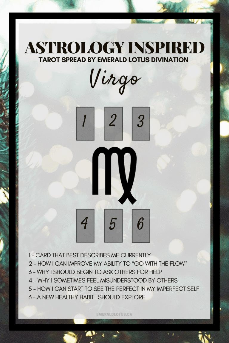 Tarot spread for Virgo #venusskylace | tarot #whatdothecardssay