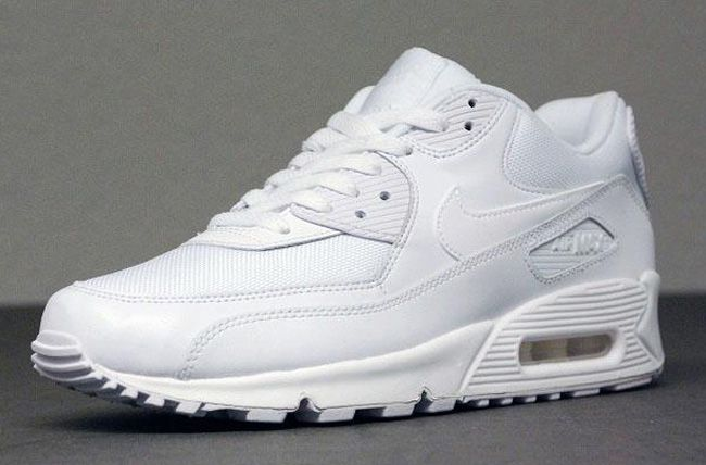 air max 90 essential all white
