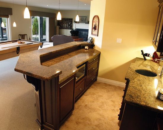 basements man cave wet bar design pictures remodel decor and ideas page - Basement Bar Design Ideas
