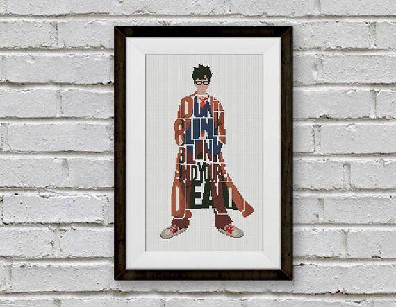 BOGO FREE Doctor Who Cross Stitch Pattern Dr Who por StitchLine