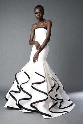 Black&White Gown...